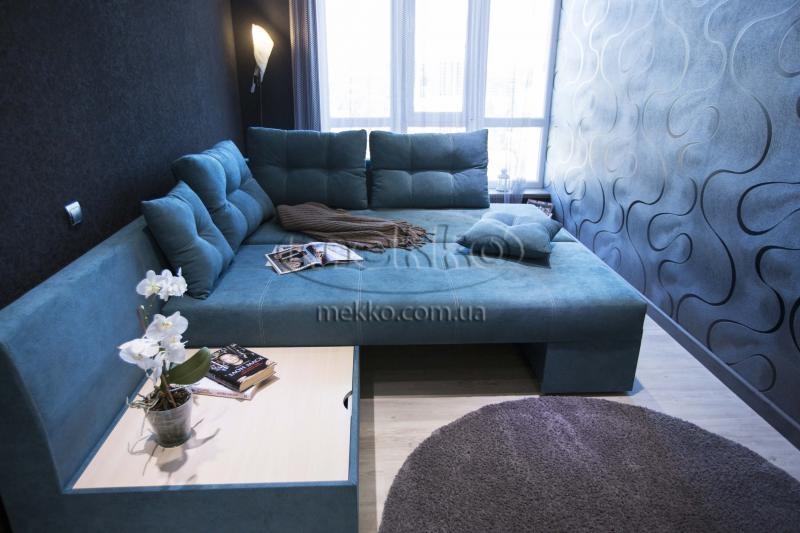 Кутовий диван з поворотним механізмом (Mercury) Меркурій ф-ка Мекко (Ортопедичний) - 3000*2150мм  Новомиргород-4