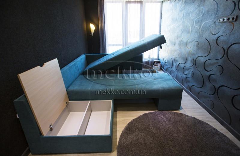 Кутовий диван з поворотним механізмом (Mercury) Меркурій ф-ка Мекко (Ортопедичний) - 3000*2150мм  Новомиргород-7