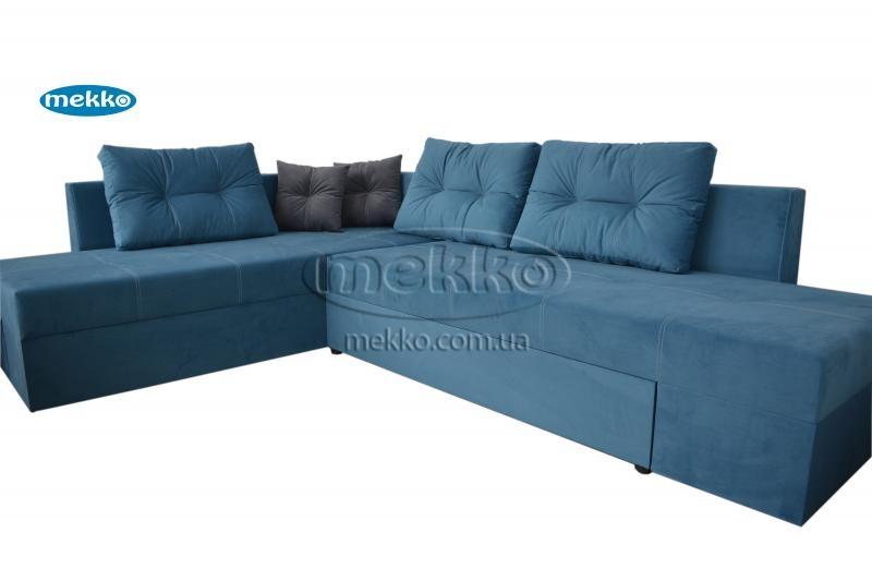 Кутовий диван з поворотним механізмом (Mercury) Меркурій ф-ка Мекко (Ортопедичний) - 3000*2150мм  Новомиргород-11