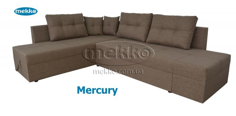 Кутовий диван з поворотним механізмом (Mercury) Меркурій ф-ка Мекко (Ортопедичний) - 3000*2150мм  Новомиргород-12
